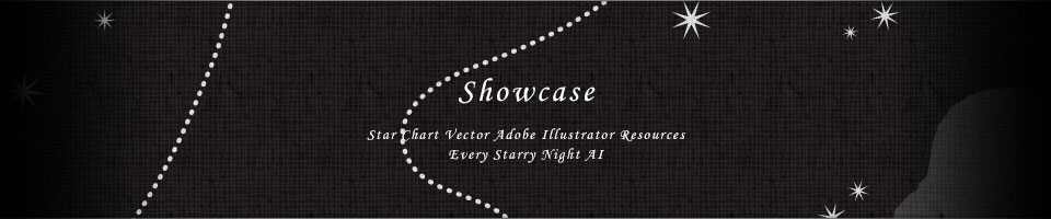 Showcase - Star Chart Vector Adobe Illustrator Resources